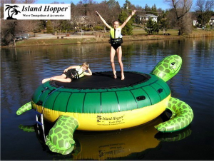 Turtle Hop 9'  Water Bouncer from Island Hopper