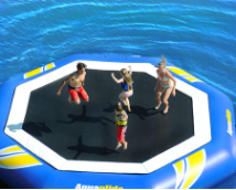 SuperTramp 17 Water Trampoline from Aquaglide