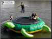 Turtle Jump 10' Water Trampoline from Island Hopper