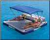 Bimini Top for the Airport and Lanai Rafts by Aquaglide (SKU: 10-01662)
