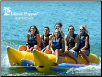 Island Hopper Commercial 6-Pass. Side-by-Side Banana Boat